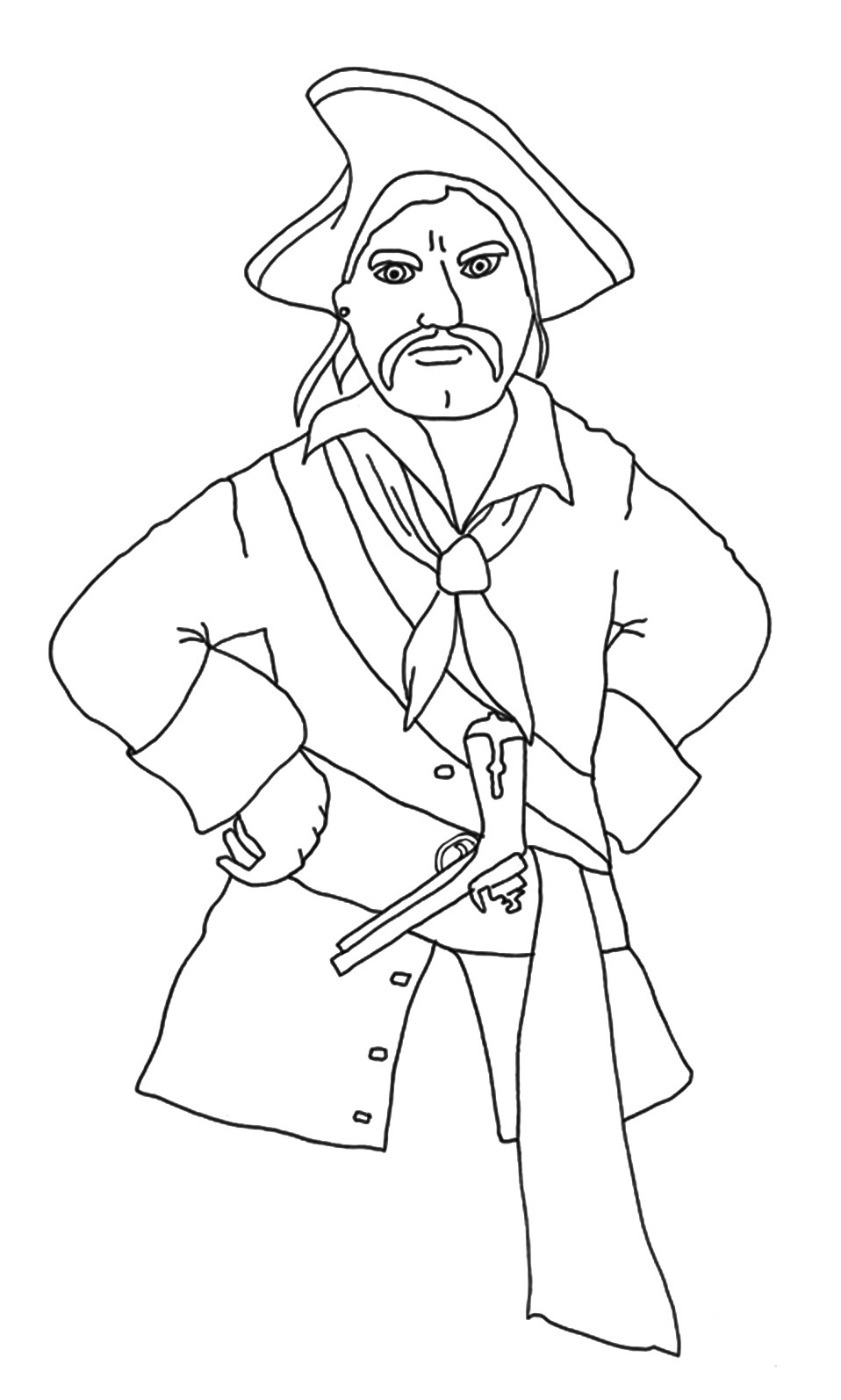 pirate images to color pirate colouring pages for kids in the playroom color images pirate to