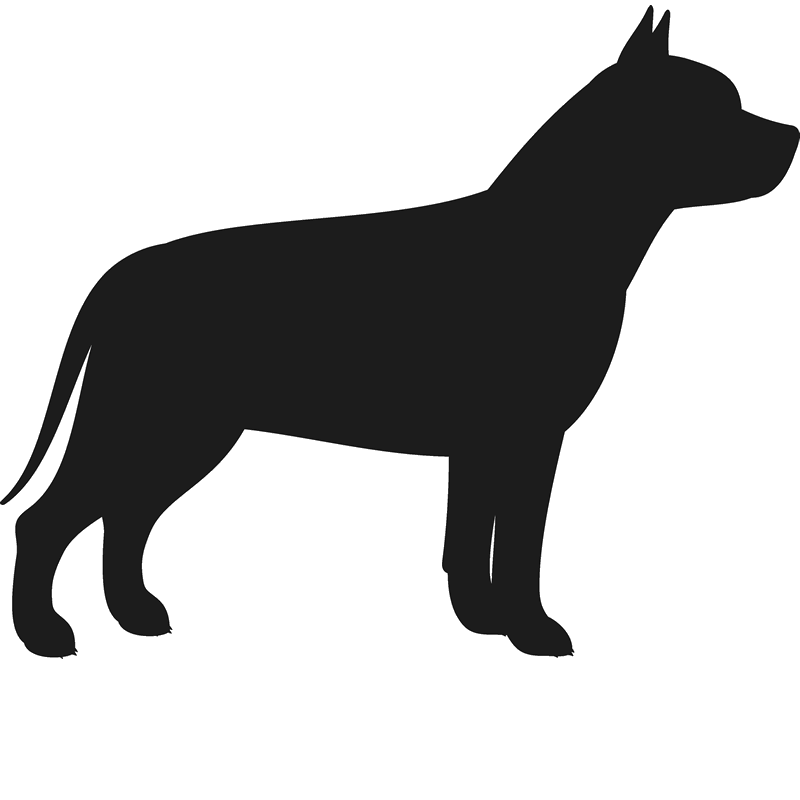 pitbull silhouette pit bull stamp silhouette dog cat fur baby stamps silhouette pitbull