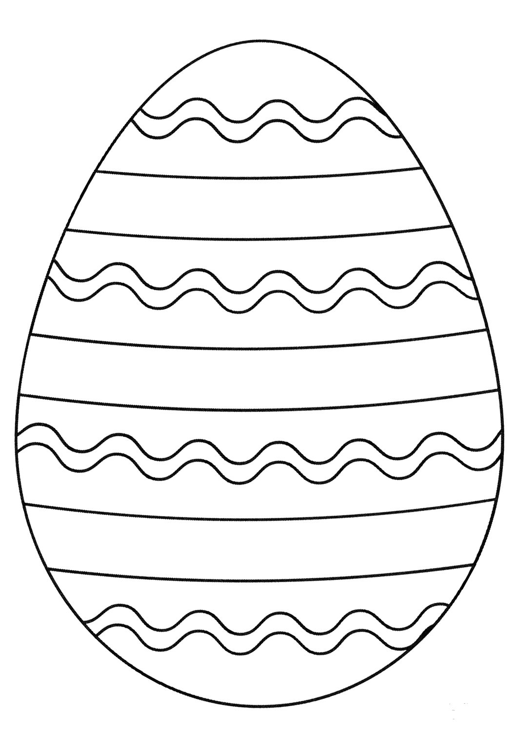 plain easter egg coloring pages easter egg drawing at getdrawings free download pages egg plain coloring easter
