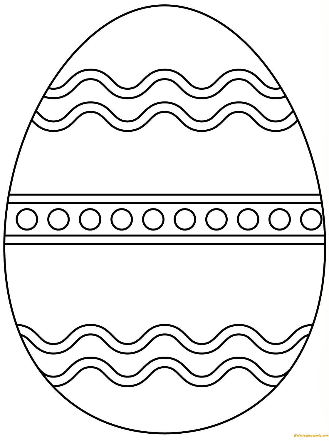 plain easter egg coloring pages plain easter egg coloring page free coloring pages online pages coloring easter egg plain