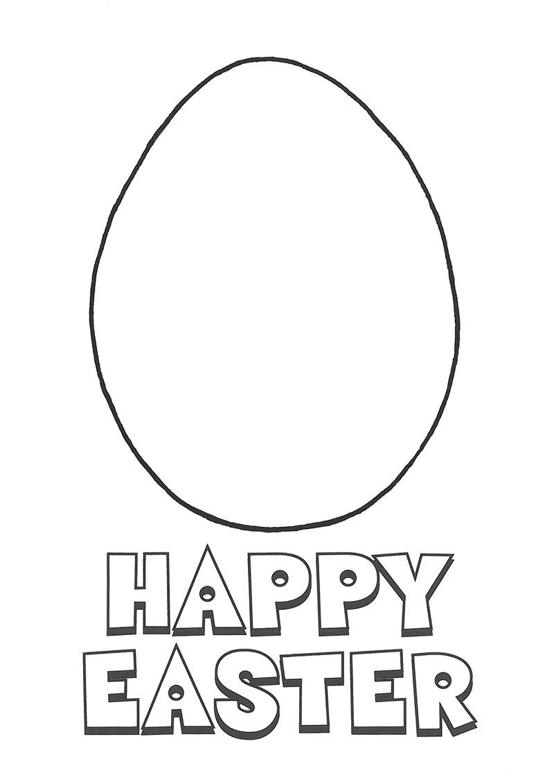 plain easter egg coloring pages plain easter egg coloring pages at getcoloringscom free plain pages coloring easter egg