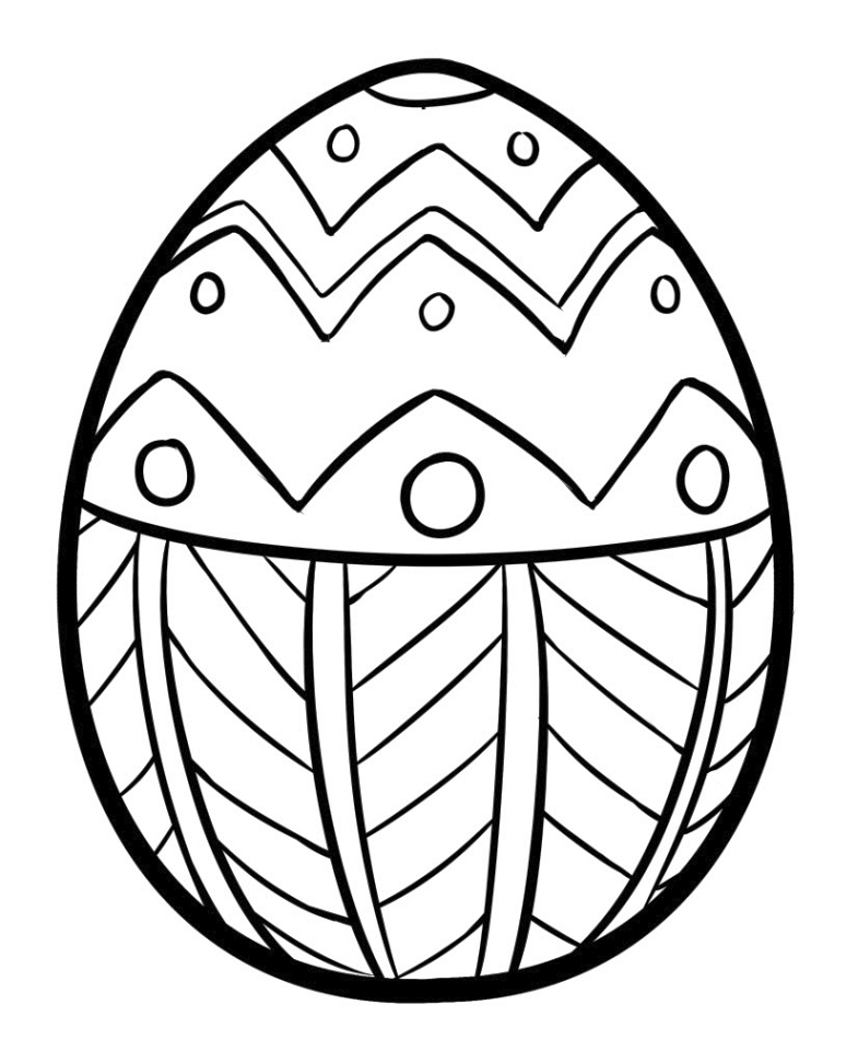 plain easter egg coloring pages simple easter egg coloring page creative ads and more pages egg easter plain coloring