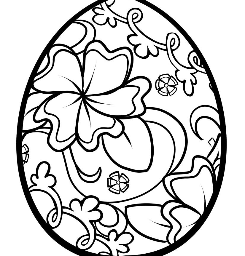 plain easter egg coloring pages simple pattern easter egg coloring pages arts culture pages egg easter plain coloring