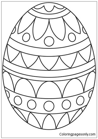 plain easter egg coloring pages simple shapes egg coloring pages kids easter egg plain coloring easter pages