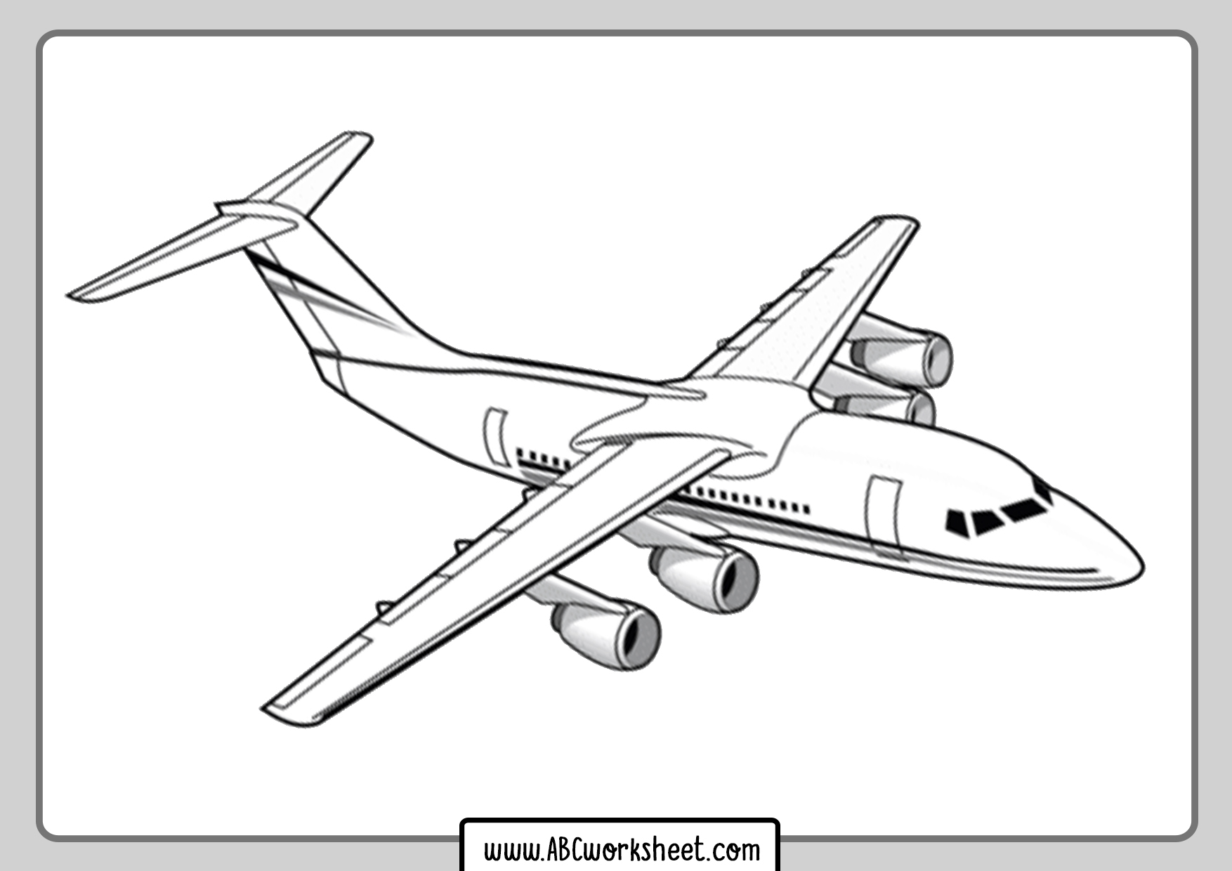 plane coloring sheets airplane coloring pages free printable bw pictures sheets plane coloring