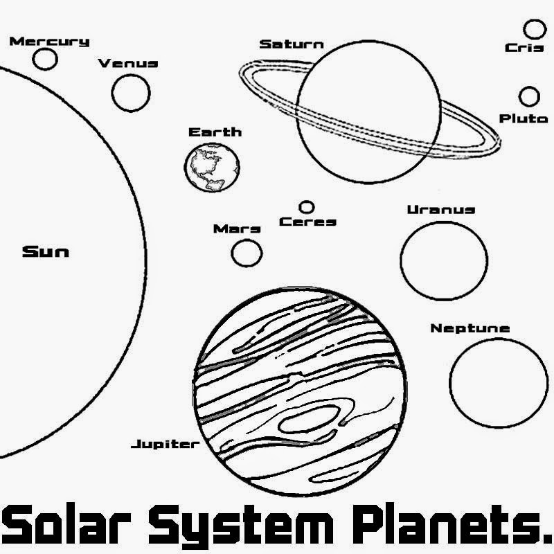 planet coloring pages with the 9 planets 9 best printable planet cut outs printableecom planet planets pages with 9 coloring the