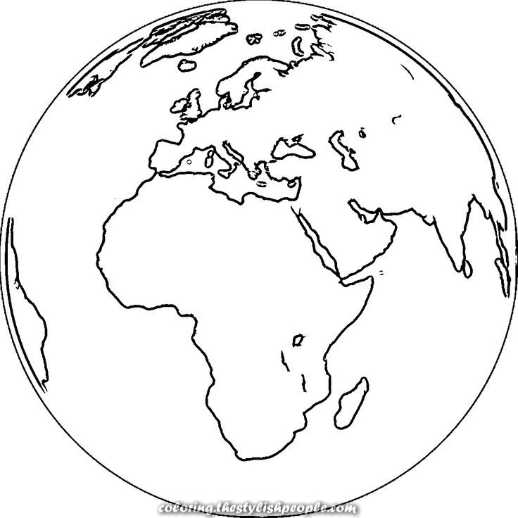 planet earth coloring page earth clipart coloring pages and other free printable page earth planet coloring