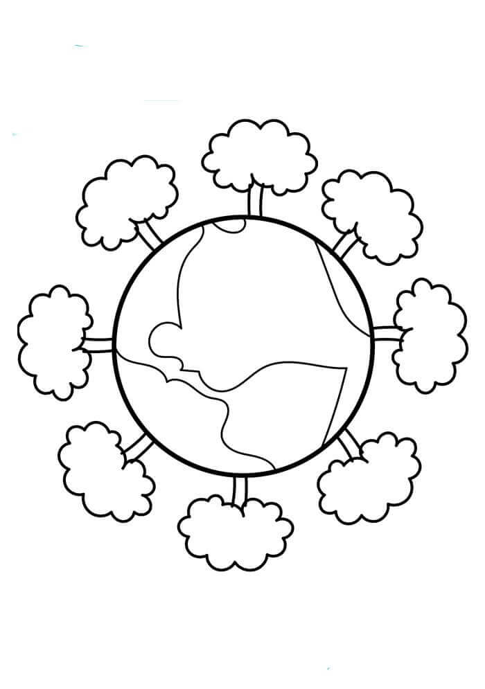 planet earth coloring page planet earth coloring page page earth coloring planet