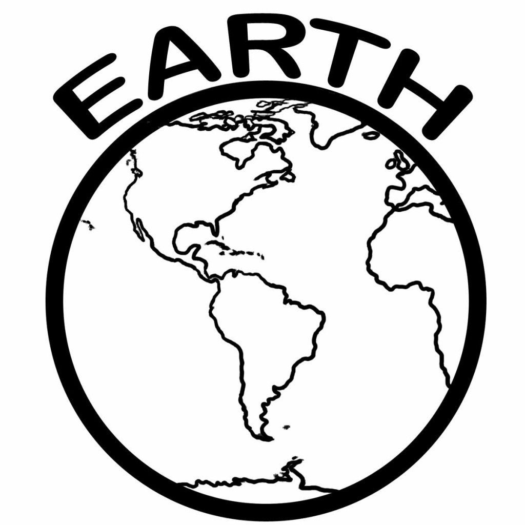 planet earth coloring page planet earth drawing at getdrawings free download planet coloring earth page
