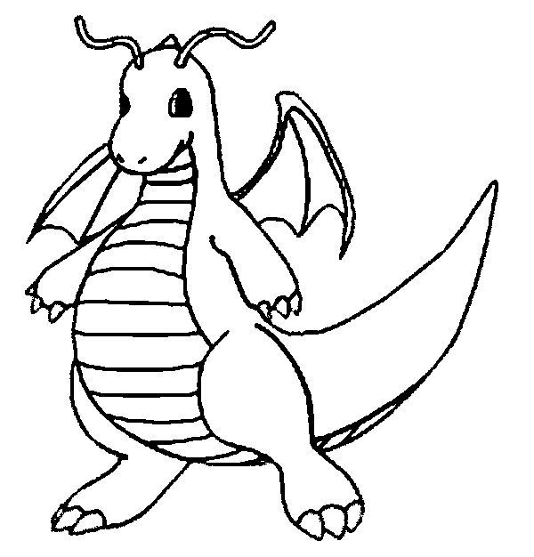 pokemon coloring pages dragonite kanto lineart by lilly gerbil on deviantart pokemon coloring dragonite pokemon pages