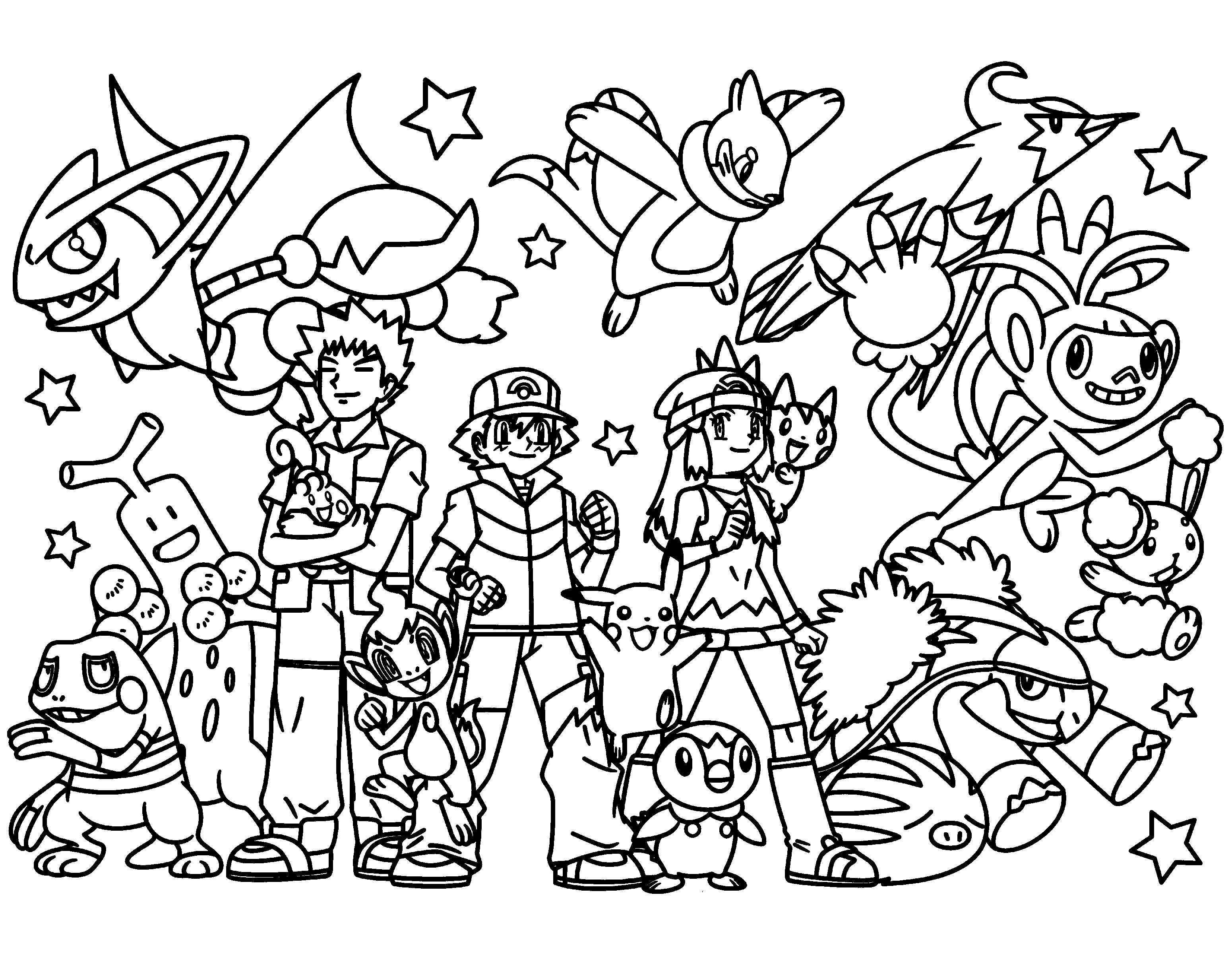 pokemon coloring pages printable all pokemon coloring pages download and print for free printable pages coloring pokemon