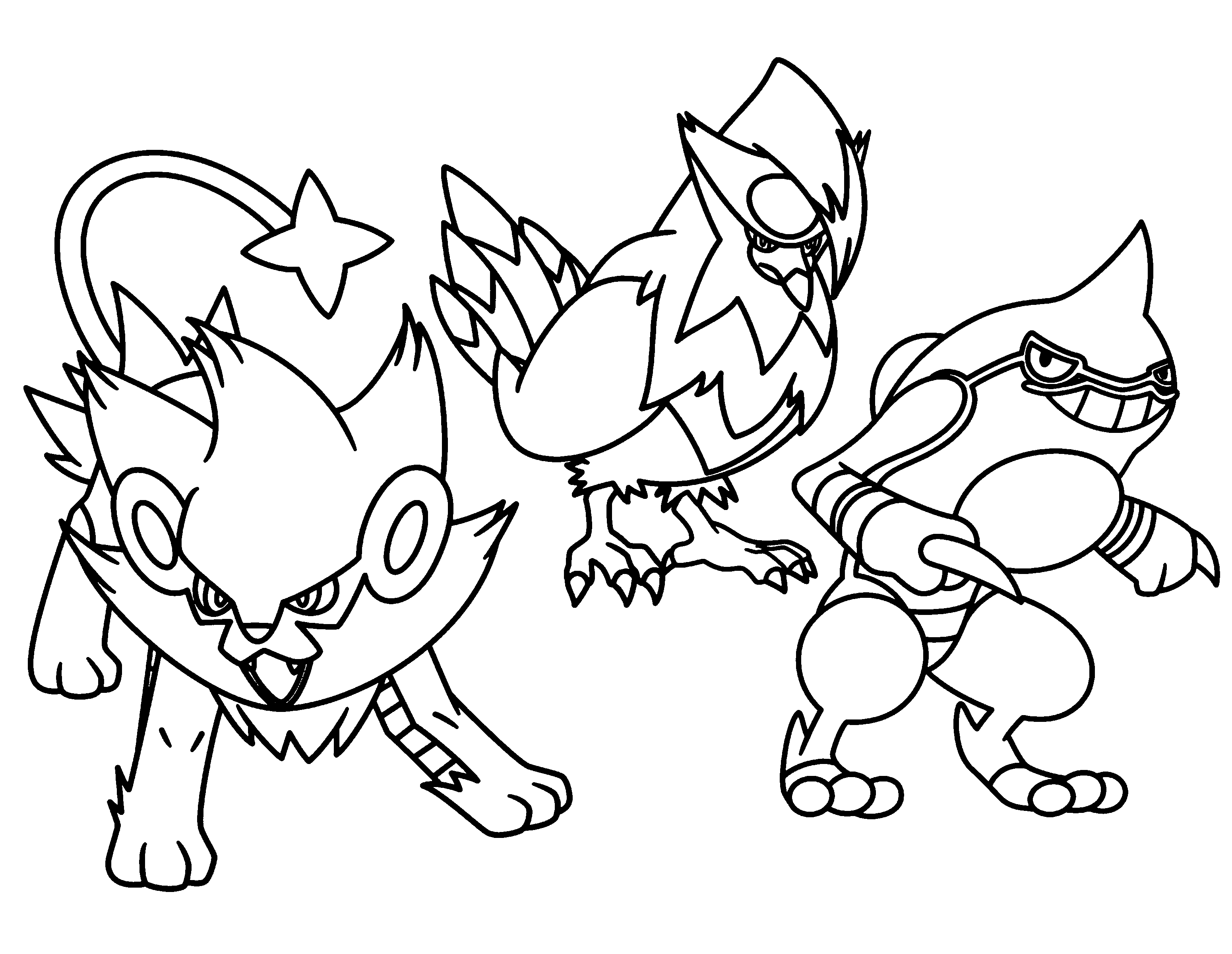 pokemon coloring pages printable pokemon incineroar free coloring pages printable coloring pokemon pages