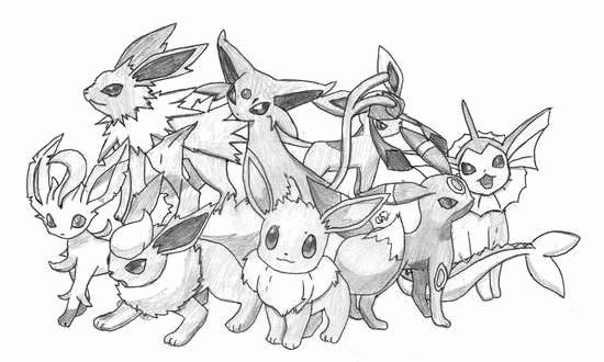 pokemon eevee evolutions coloring pages pokemon coloring pages eevee evolutions coloring home evolutions pages eevee pokemon coloring
