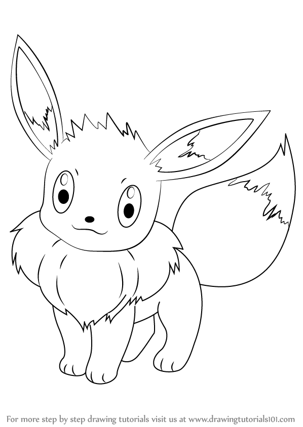 pokemon how to draw eevee 133 eevee lineart by lilly gerbil on deviantart pokemon to how draw eevee
