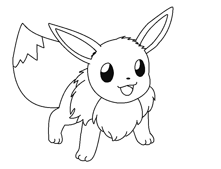 pokemon how to draw eevee how to draw eevee coloring pages free printable coloring eevee to pokemon draw how