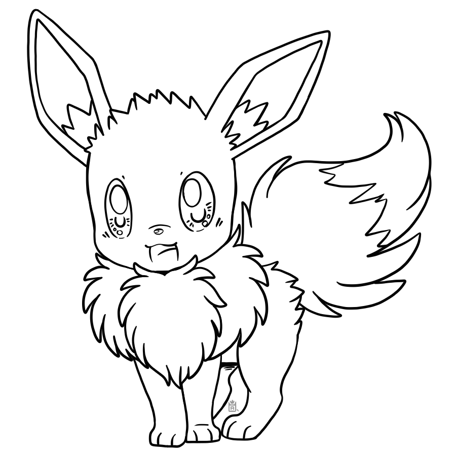 pokemon how to draw eevee how to draw eevee from pokémon really easy drawing tutorial how eevee pokemon to draw