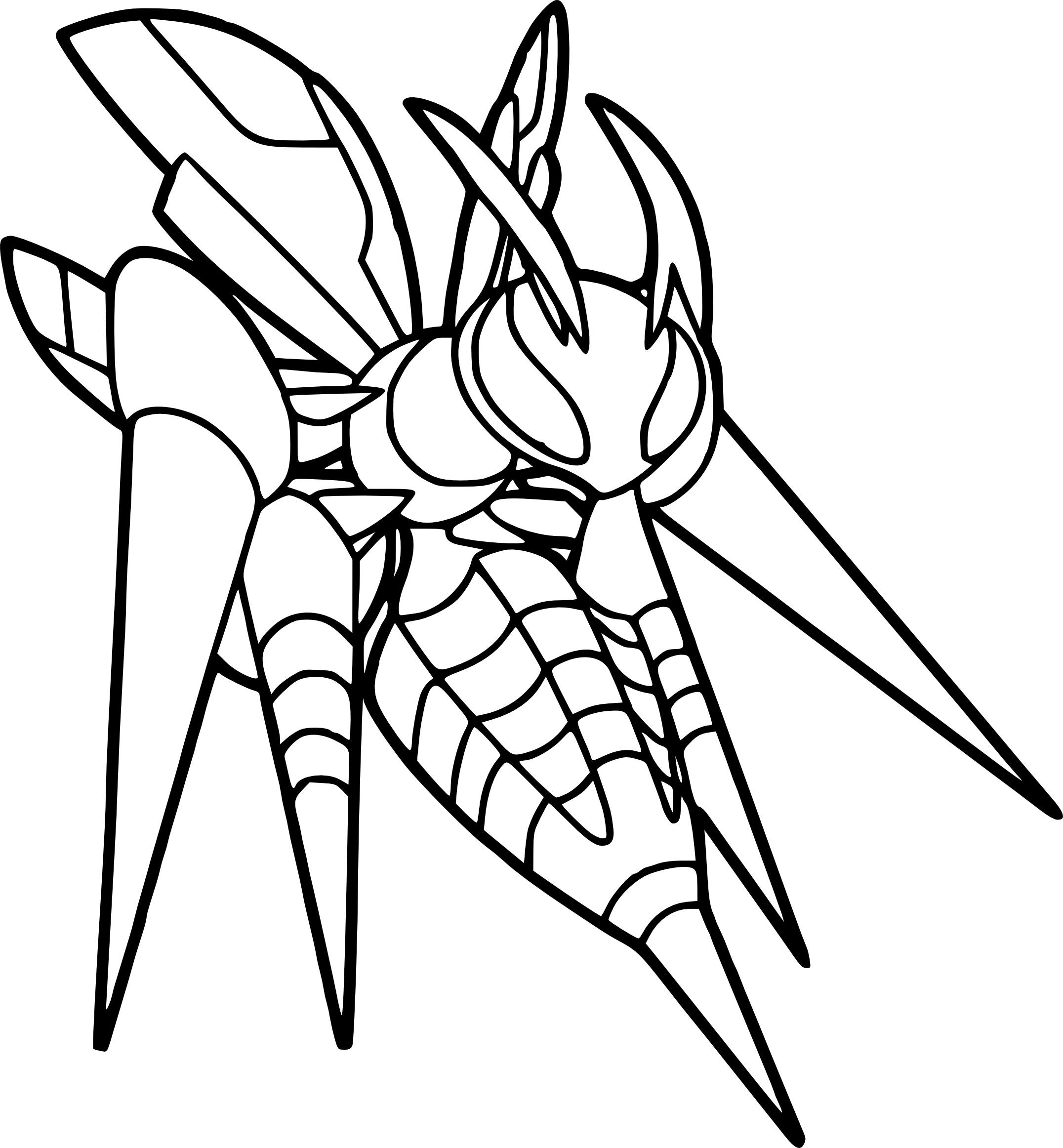 pokemon kingdra coloring pages mega pokemon coloring pages at getcoloringscom free kingdra pages pokemon coloring