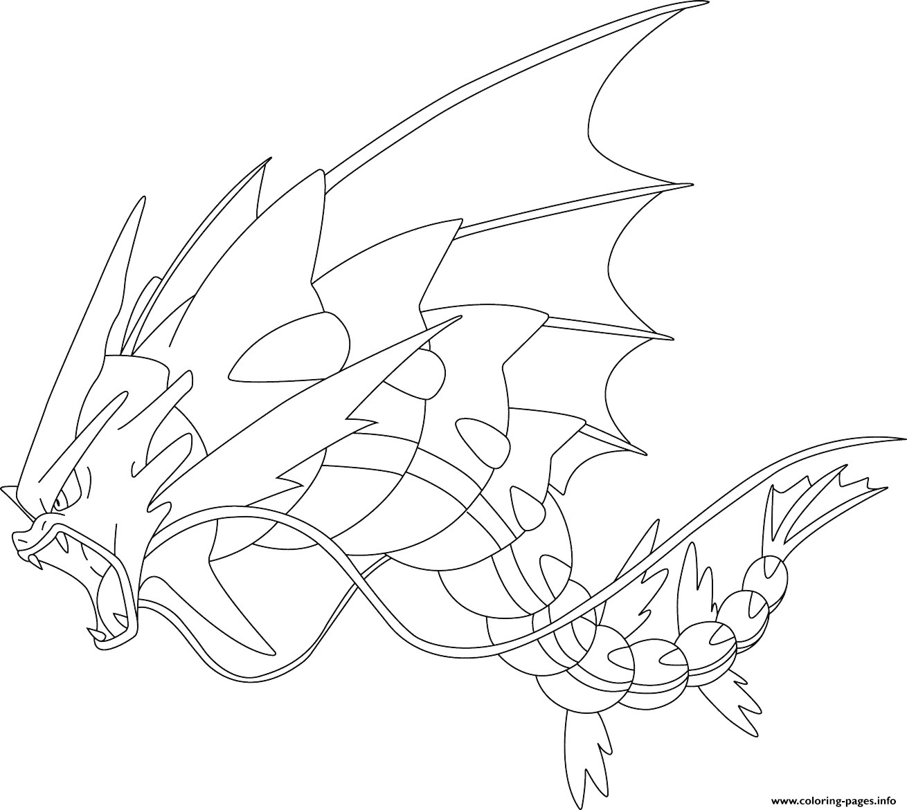 pokemon kingdra coloring pages pokemon coloring pages gyarados at getcoloringscom free pokemon coloring pages kingdra
