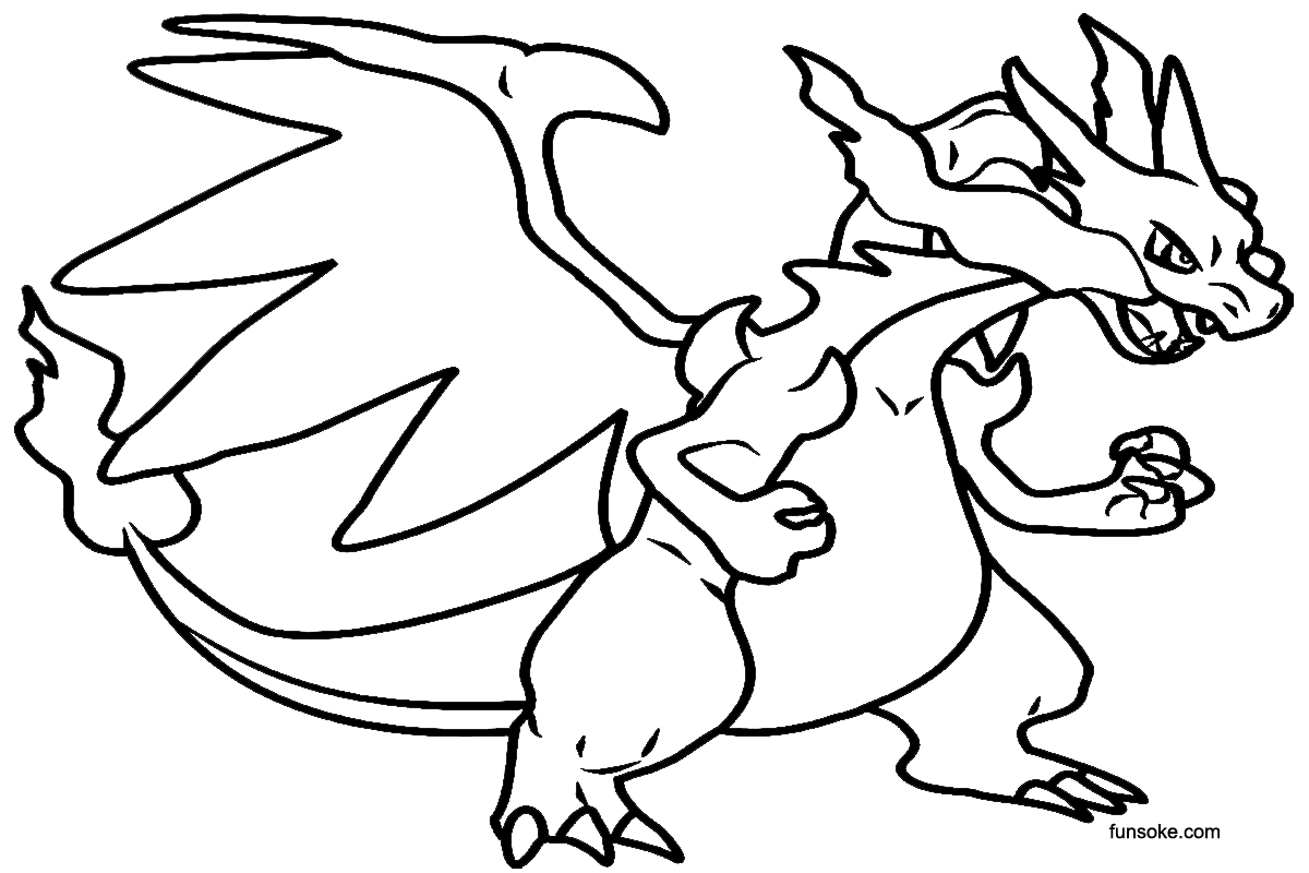 pokemon kingdra coloring pages printable pokemon coloring pages mega charizard x funsoke coloring pokemon pages kingdra