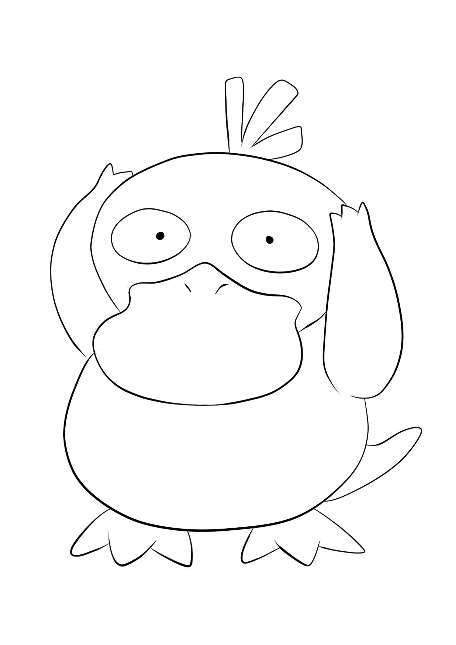 pokemon kingdra coloring pages psyduck coloring pages coloring home coloring kingdra pokemon pages