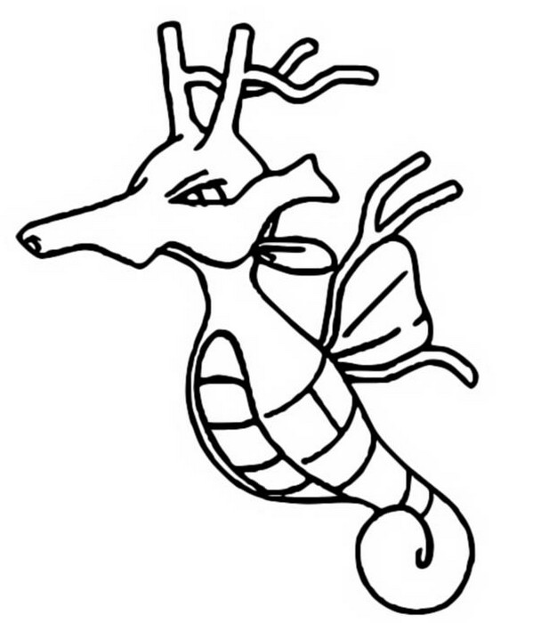 pokemon kingdra coloring pages stampa disegno di pokemon kingdra da colorare kingdra pokemon pages coloring