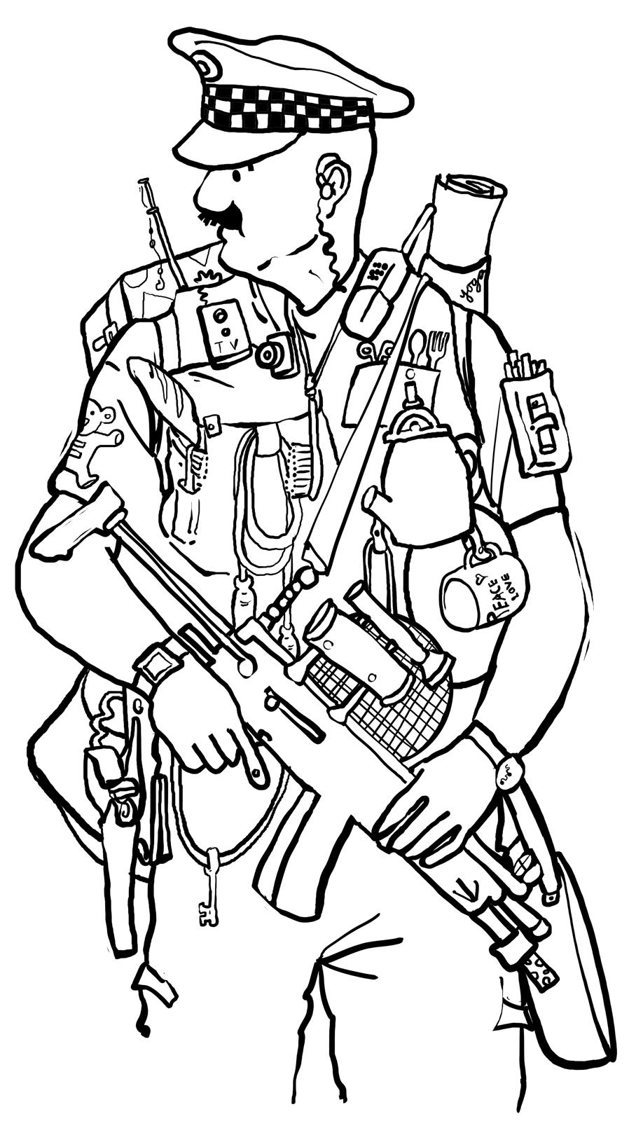 police pictures to colour free printable policeman coloring pages for kids to police colour pictures