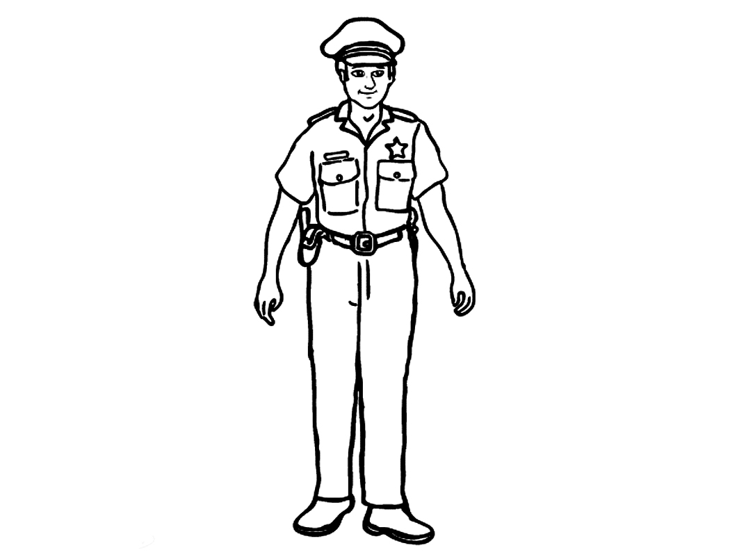police pictures to colour police coloring pages birthday printable pictures to colour police
