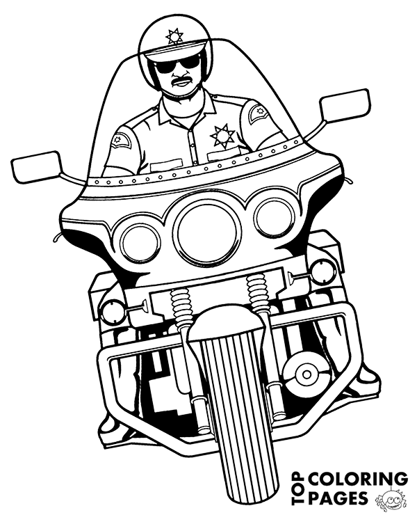 police pictures to colour police coloring pages birthday printable pictures to police colour
