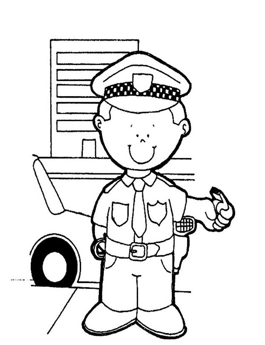police pictures to colour policeman coloring pages clipart panda free clipart images to pictures police colour
