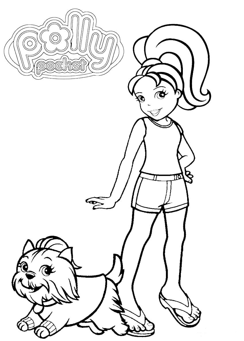 polly pocket coloring pages polly pocket coloring pages getcoloringpagescom pocket polly coloring pages