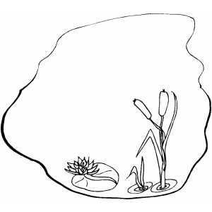 pond coloring pages pond coloring page coloring pond pages
