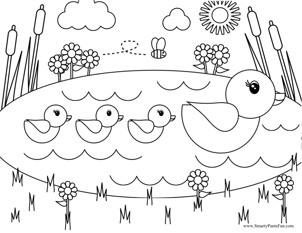 pond coloring pages pond coloring pages simple clipart free printable pages coloring pond