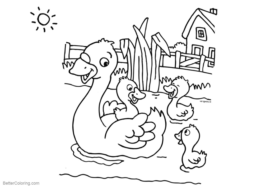 pond coloring pages pond for free coloring pages download pages pond coloring
