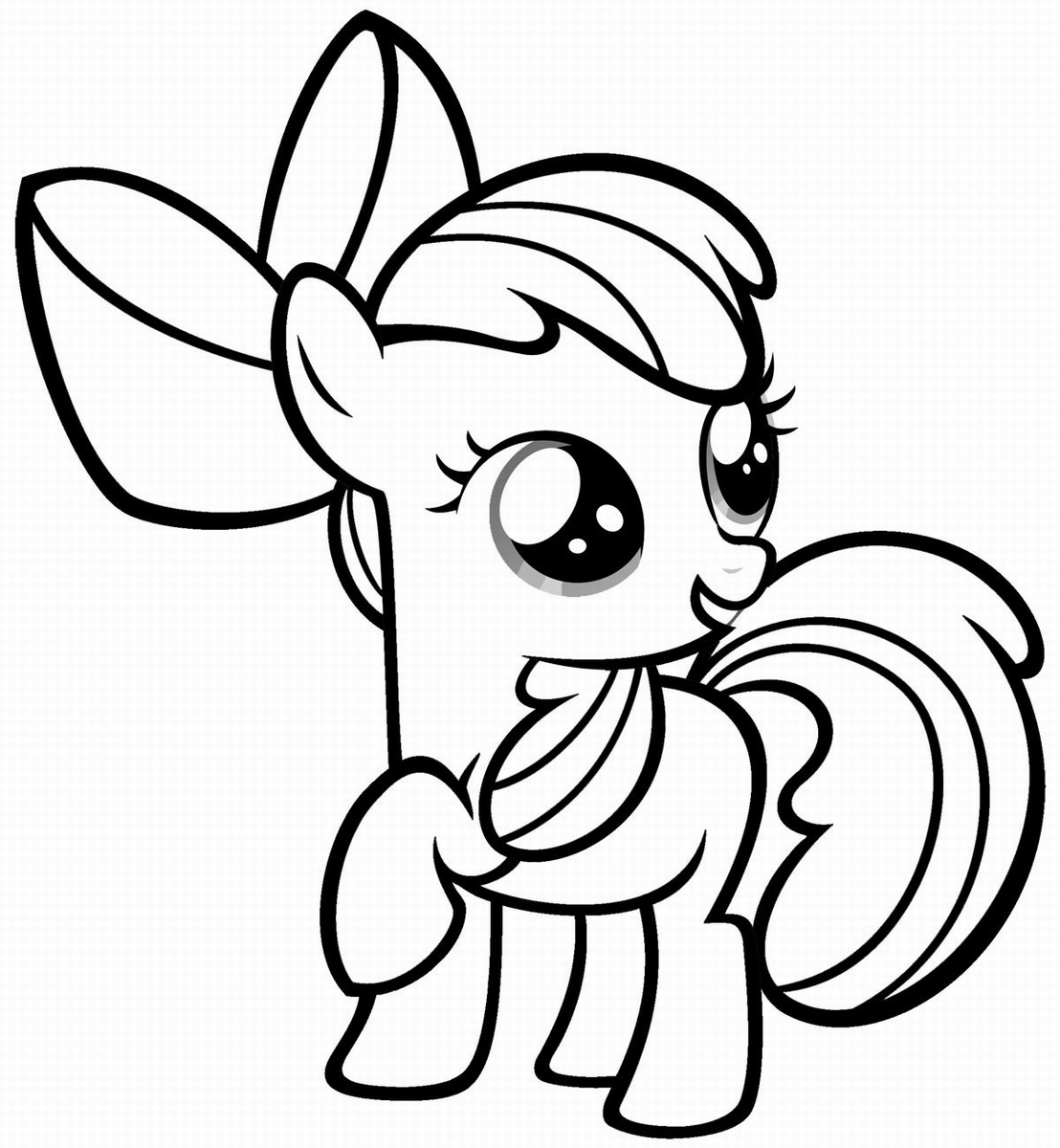 pony to color free printable my little pony coloring pages for kids to color pony