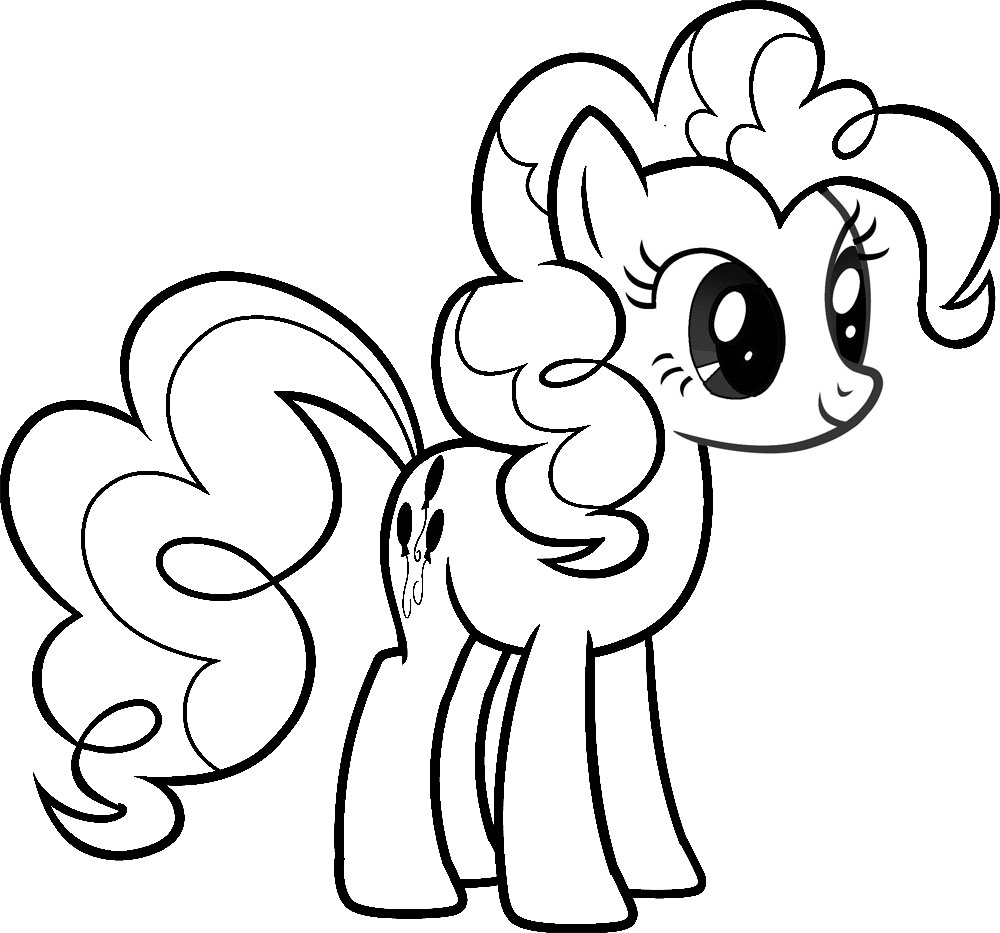 pony to color my little pony coloring pages pony color to