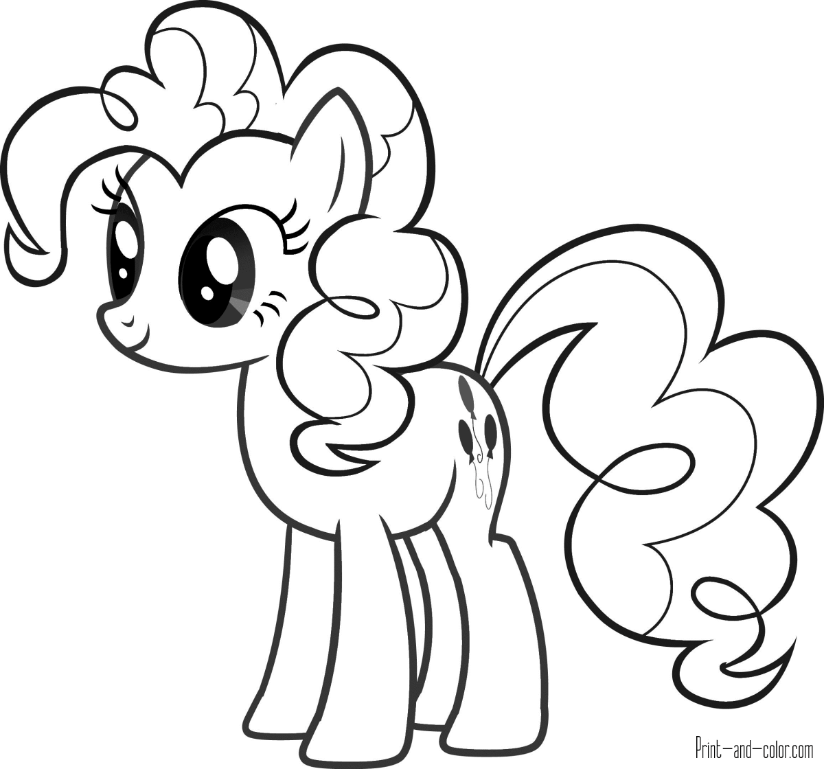 pony to color my little pony coloring pages print and colorcom pony to color