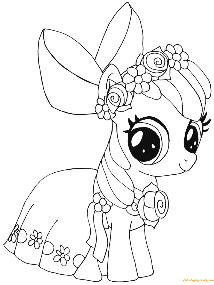 pony to color my little pony coloring pages the coloring page to pony color