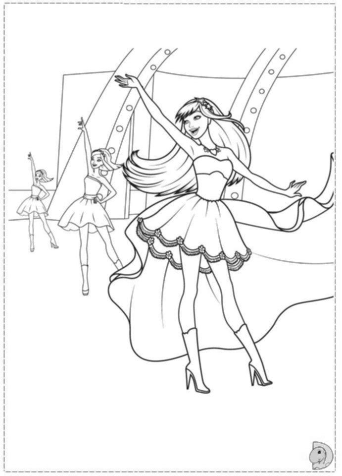 pop star colouring pages barbie popstar coloring pages coloring pages to download pop star colouring pages