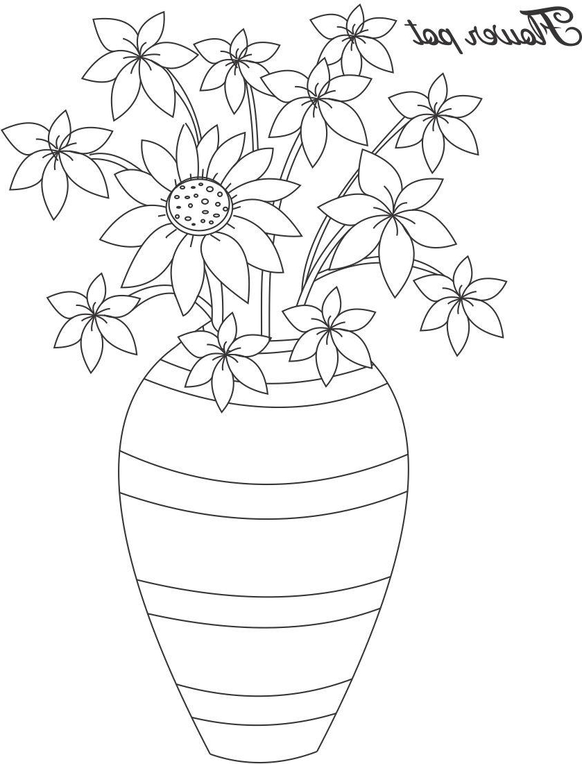 pot plant drawing plant drawing for kids at getdrawings free download pot drawing plant