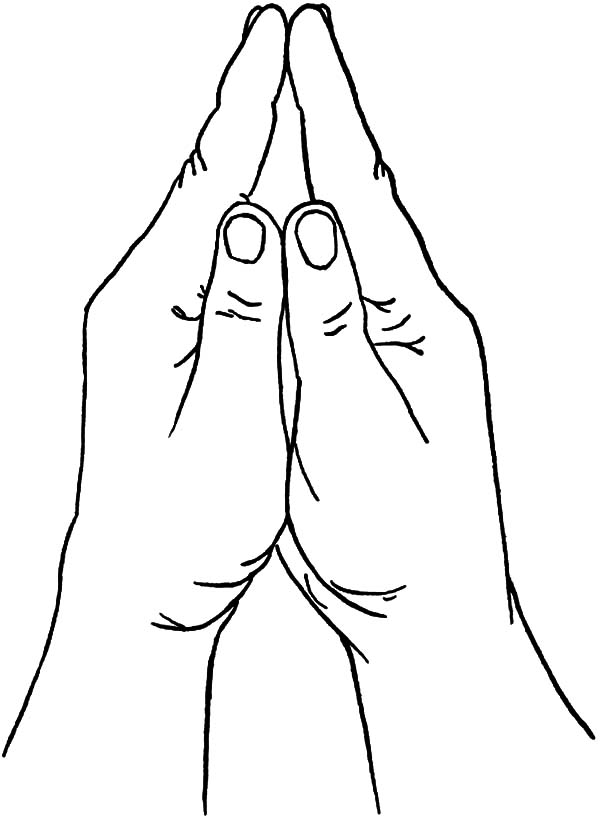 praying hands coloring page praying hands with color clipart 20 free cliparts hands page coloring praying