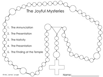 preschool rosary coloring page pin on love my job page rosary coloring preschool