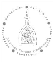 preschool rosary coloring page preview coloring book about the rosary seton educational coloring preschool rosary page