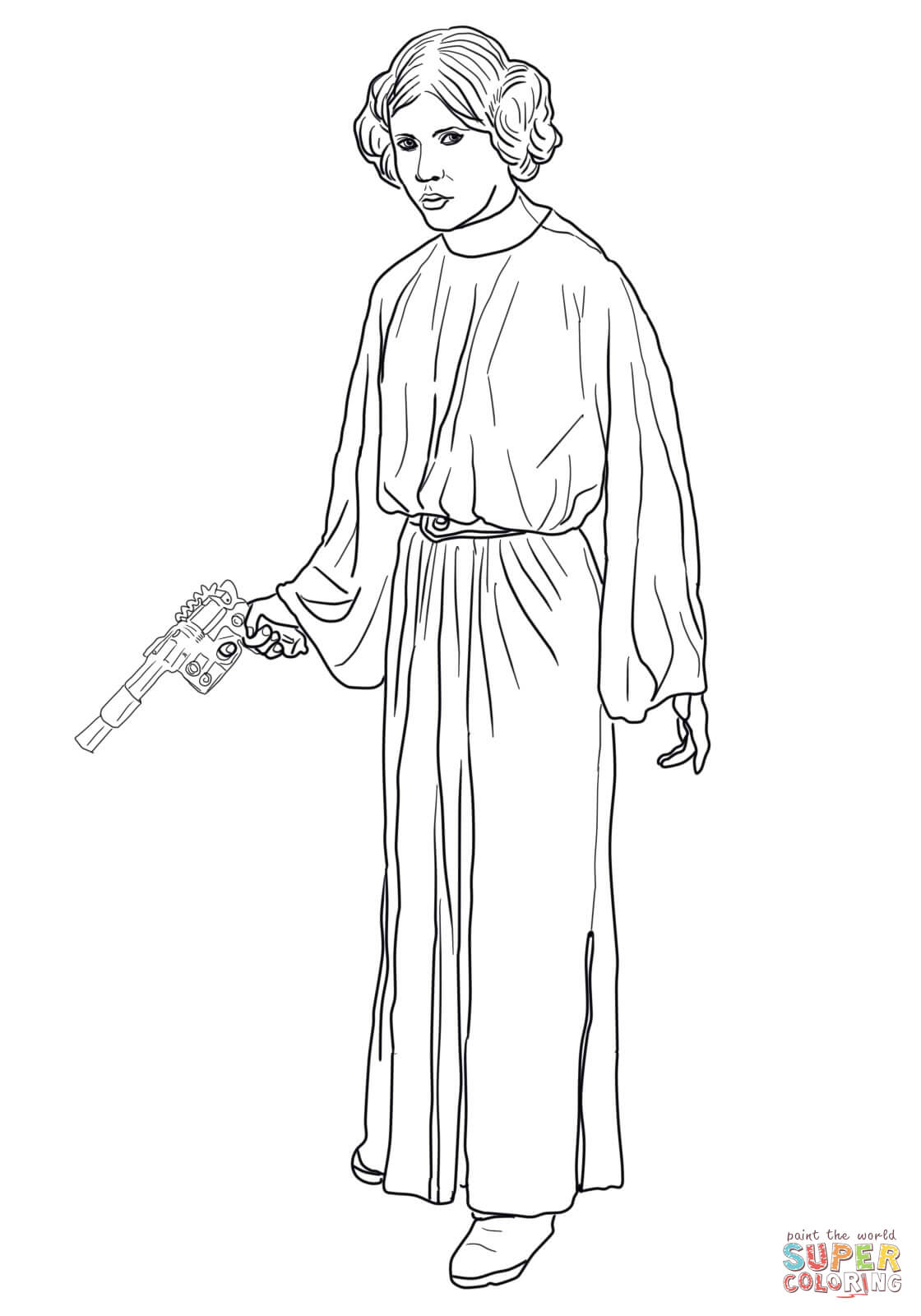 princess leia coloring pages prinzessin leia 4 abc coloring pages abc coloring pages leia princess coloring
