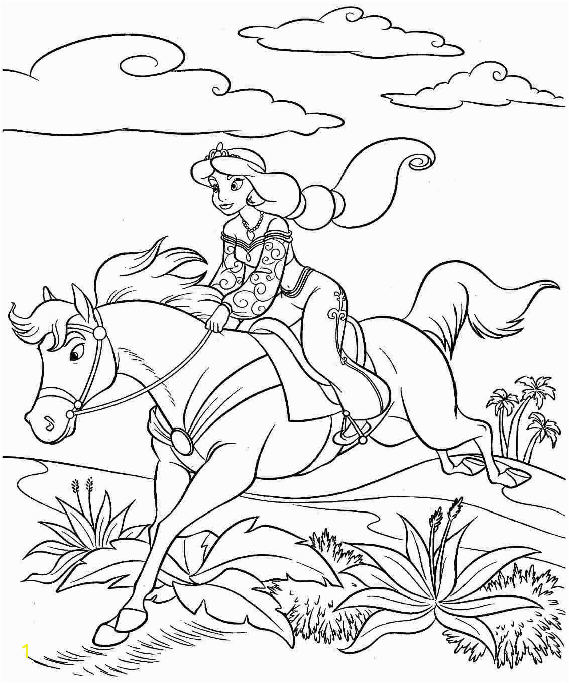 princess on horse coloring pages horse and princess coloring play free coloring game online pages on princess coloring horse