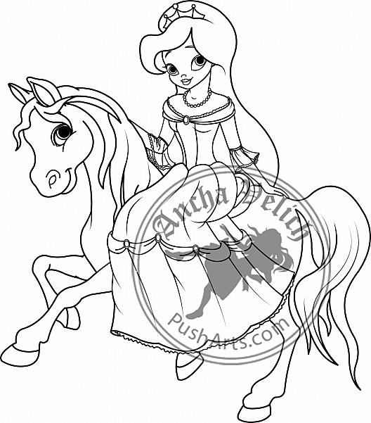 princess on horse coloring pages princess aurora love her horse coloring page download pages horse princess coloring on
