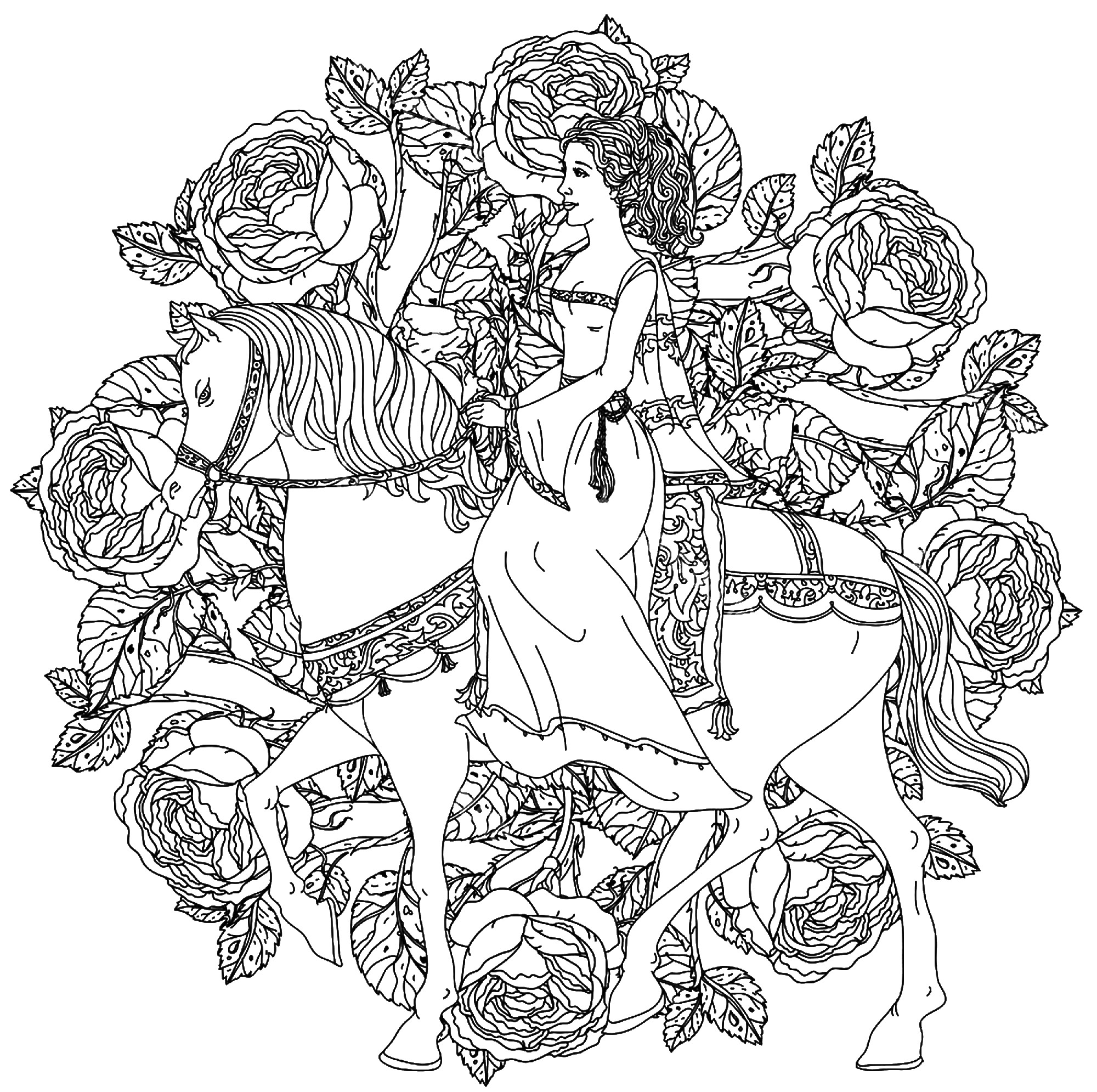 princess on horse coloring pages princess horse coloring pages coloring home horse princess on pages coloring
