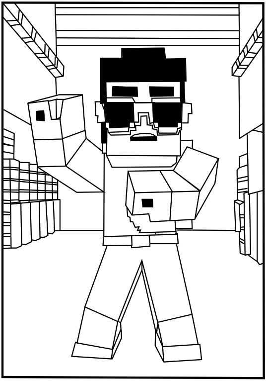 print minecraft coloring pages coloring pages minecraft the coloring page print coloring minecraft pages