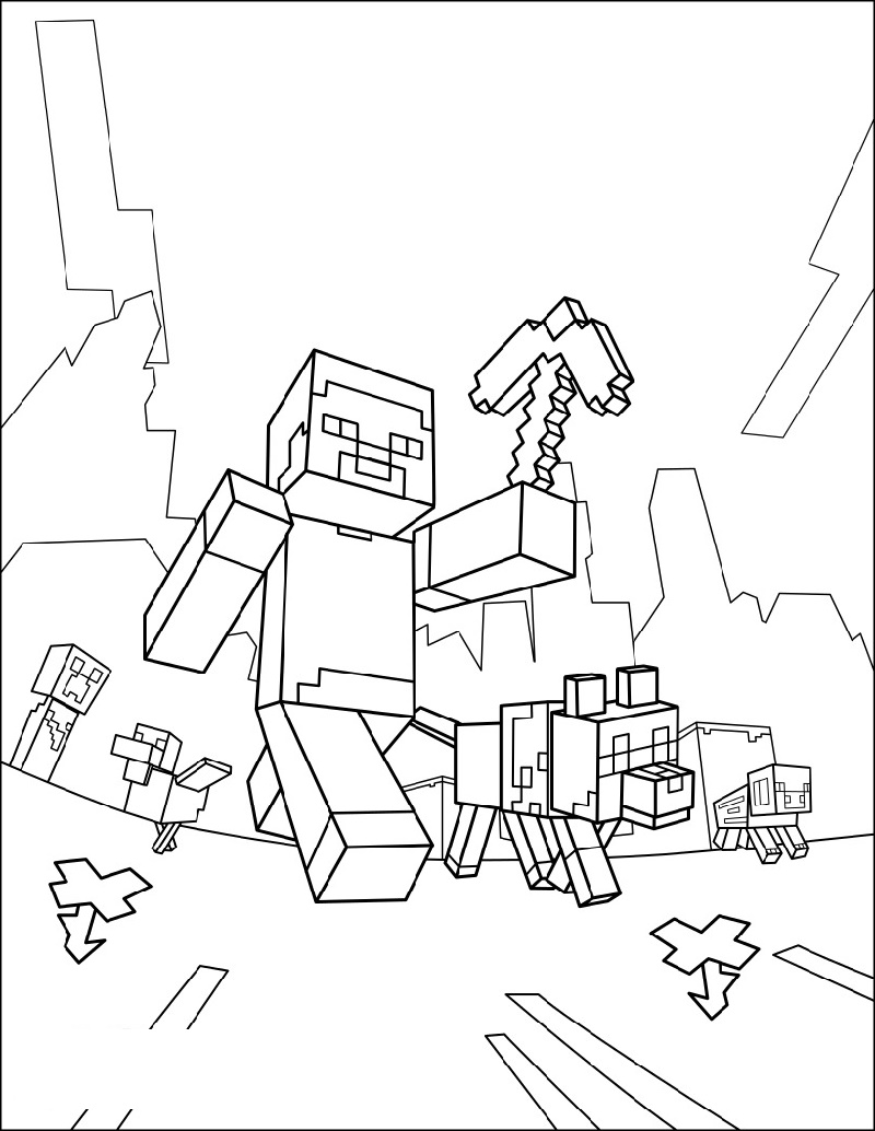 print minecraft coloring pages minecraft 12 printable coloring pages minecraft coloring pages print