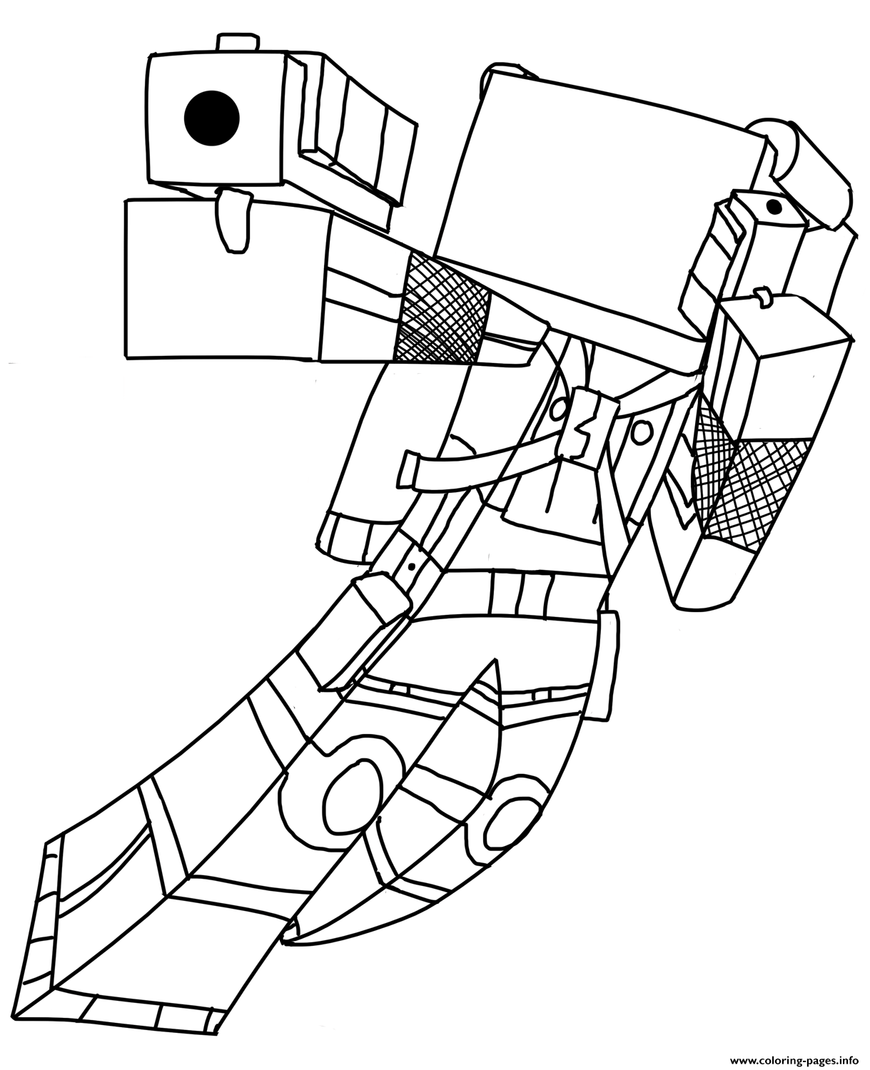 print minecraft coloring pages minecraft coloring pages print them for free 100 print pages minecraft coloring