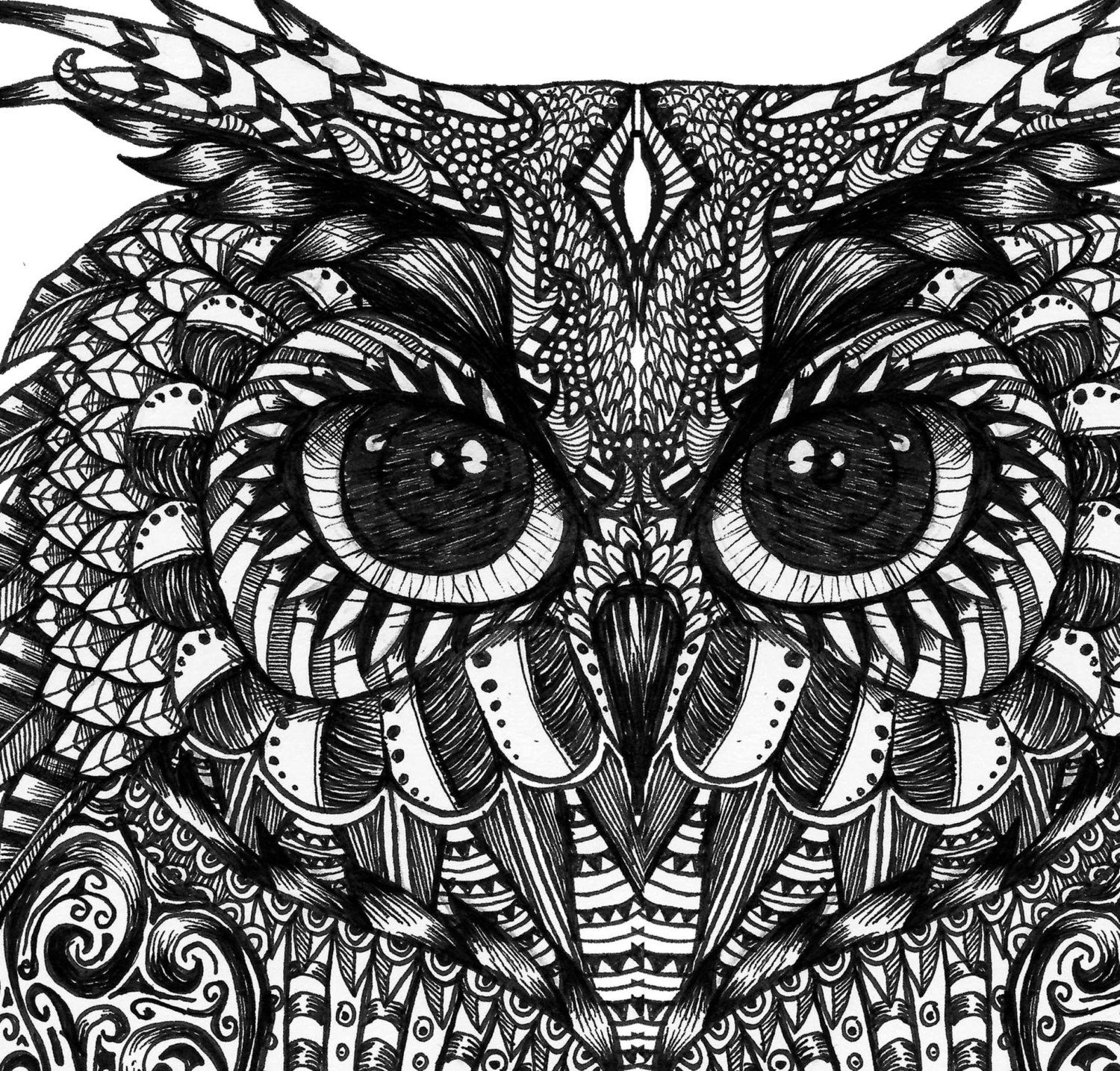 print owl pictures owl print by hayleysue on etsy owl coloring pages owl print owl pictures